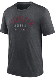 Cleveland Indians Nike Early Work Fashion T Shirt - Charcoal