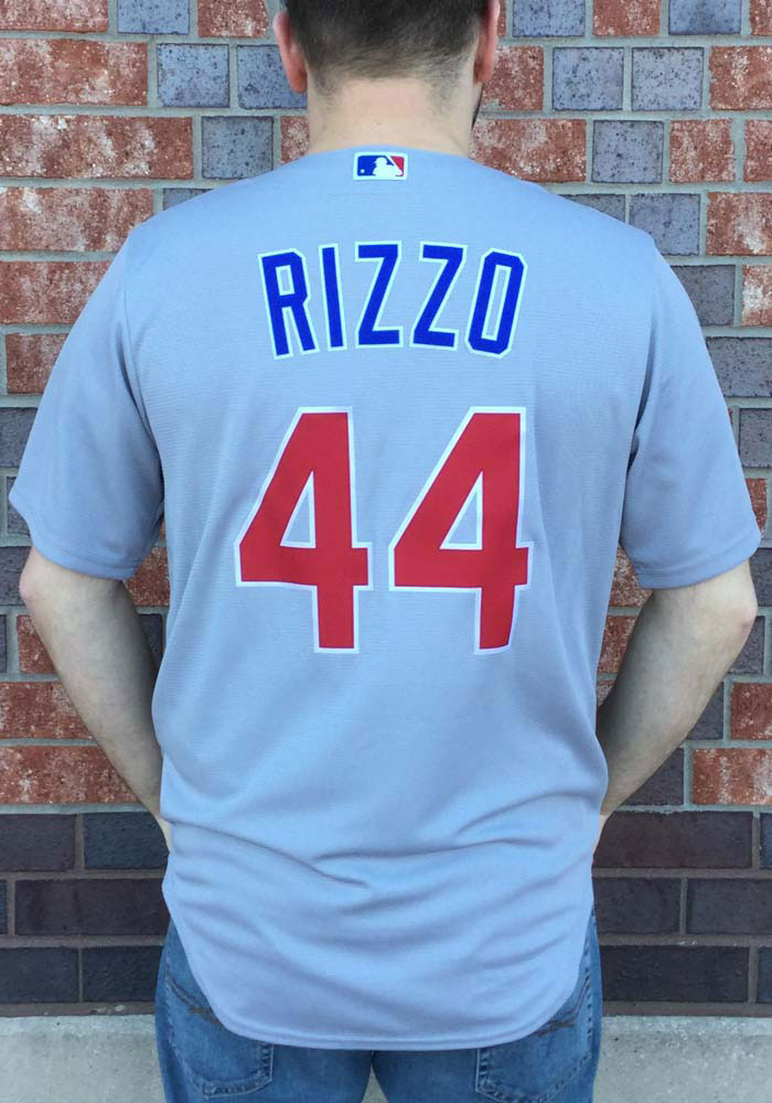 Anthony Rizzo Chicago Cubs Mens Replica 2020 Road Jersey - Grey - 17321157