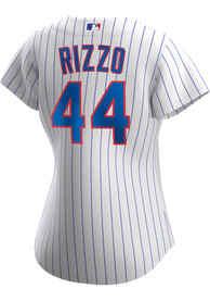 Anthony Rizzo Chicago Cubs Womens Nike 2020 Home Replica - White