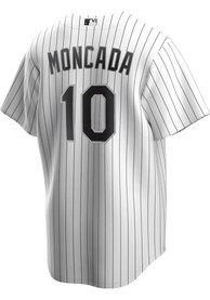 Yoan Moncada Chicago White Sox Nike 2020 Home Replica - White