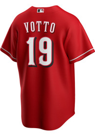 Joey Votto Cincinnati Reds Nike 2020 Alternate Replica - Red