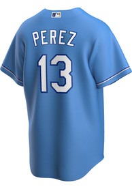 Salvador Perez Kansas City Royals Nike 2020 Alternate Replica - Light Blue