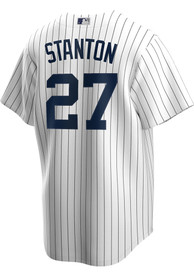 Giancarlo Stanton New York Yankees Nike 2020 Home Replica - White