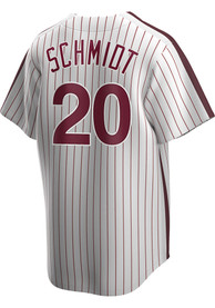 Philadelphia Phillies Mike Schmidt Nike Throwback Cooperstown Jersey - White
