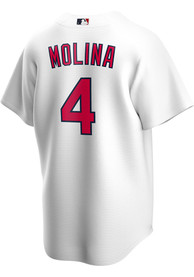 Yadier Molina St Louis Cardinals Nike 2020 Home Replica - White