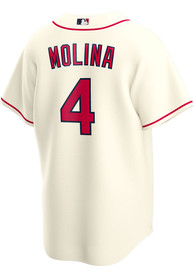 Yadier Molina St Louis Cardinals Nike 2020 Alternate Replica - Ivory
