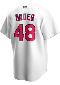 Harrison Bader St Louis Cardinals Nike 2020 Home Replica - White