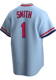 Ozzie Smith St Louis Cardinals Nike Cooperstown Cooperstown - Light Blue