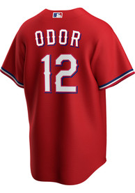 Rougned Odor Texas Rangers Nike 2020 Alternate Replica - Red
