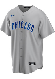 Chicago Cubs Nike 2020 Road Replica - Grey