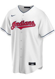 Cleveland Indians Nike 2020 Home Replica - White