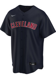 Cleveland Indians Nike 2020 Alternate Replica - Navy Blue