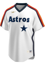 Houston Astros Nike Throwback Cooperstown Jersey - White