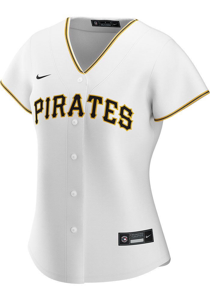 Pittsburgh Pirates Womens Nike Replica 2020 Home Jersey - White - Image 1