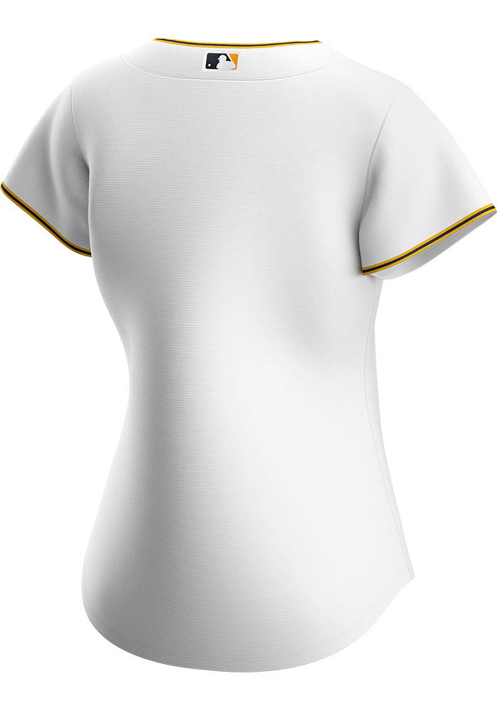 Pittsburgh Pirates Womens Nike Replica 2020 Home Jersey - White - Image 2