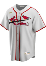St Louis Cardinals Nike 42-44 Home Cooperstown - White