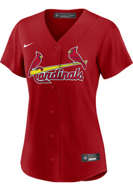 St Louis Cardinals Womens Nike 2020 Alternate Replica - Red