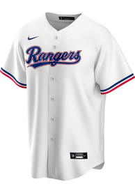 Texas Rangers Nike 2020 Home Replica - White