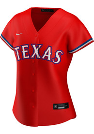 Texas Rangers Womens Nike 2020 Alternate Replica - Red