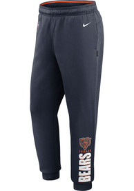 Chicago Bears Nike Lockup Therma Pants - Navy Blue