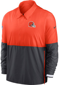 Cleveland Browns Nike TL Coach Light Weight Jacket - Orange