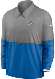 Detroit Lions Nike TL Coach Light Weight Jacket - Grey
