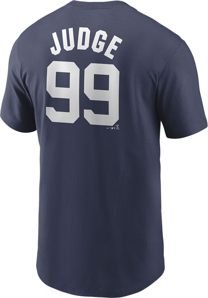 Aaron Judge New York Yankees Nike Name And Number T-Shirt - Navy Blue