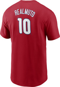 JT Realmuto Philadelphia Phillies Nike Name And Number T-Shirt - Red