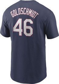 Paul Goldschmidt St Louis Cardinals Nike Name And Number T-Shirt - Navy Blue