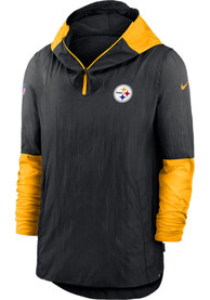 Pittsburgh Steelers Nike Pregame Plyr Pullover Jackets - Black