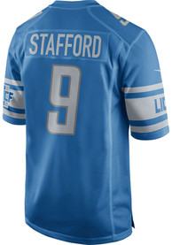 Matthew Stafford Detroit Lions Nike Home Game Football Jersey - Blue