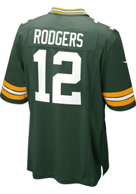 Aaron Rodgers Green Bay Packers Nike Home Game Football Jersey - Green