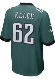 Jason Kelce Philadelphia Eagles Nike Home Game Football Jersey - Midnight Green