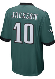 DeSean Jackson Philadelphia Eagles Nike Home Game Football Jersey - Midnight Green
