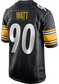 TJ Watt Pittsburgh Steelers Nike Home Game Football Jersey - Black