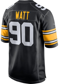 TJ Watt Pittsburgh Steelers Nike Alternate Game Football Jersey - Black