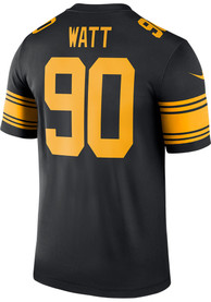 TJ Watt Pittsburgh Steelers Nike Color Rush Legend Football Jersey - Black