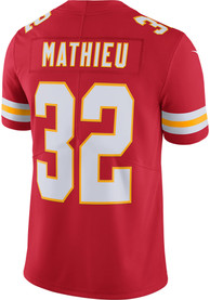 Tyrann Mathieu Kansas City Chiefs Nike Home Limited Football Jersey - Red