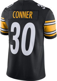 James Conner Pittsburgh Steelers Nike Home Limited Football Jersey - Black
