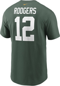 Aaron Rodgers Green Bay Packers Nike Primetime T-Shirt - Green