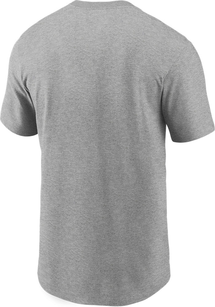 Nike Kansas City Chiefs Grey Tonal Logo Short Sleeve T Shirt - Image 2