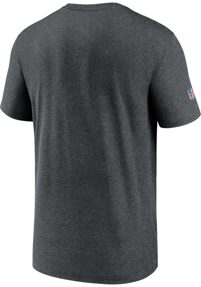 Nike Cincinnati Bengals Charcoal Team Name Legend Short Sleeve T Shirt - Image 2