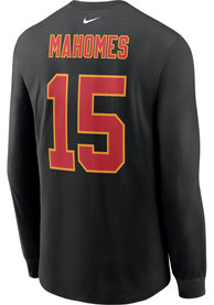 Patrick Mahomes Kansas City Chiefs Nike Primetime Long Sleeve T-Shirt - Black