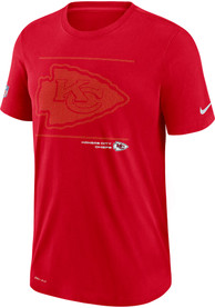 Kansas City Chiefs Nike DFCT Team Issue T Shirt - Red