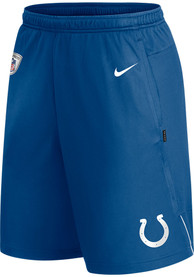 Indianapolis Colts Nike Coach Knit Shorts - Blue