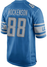 Detroit Lions Nike Home Game Football Jersey - Blue