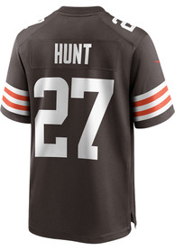 Kareem Hunt Cleveland Browns Nike Home Game Football Jersey - Brown
