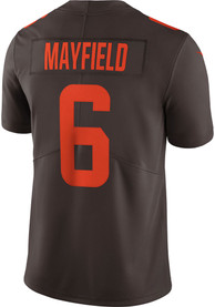 Baker Mayfield Cleveland Browns Nike Alternate Limited Football Jersey - Brown