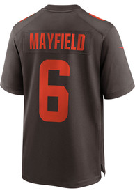 Baker Mayfield Cleveland Browns Nike Alternate Game Football Jersey - Brown