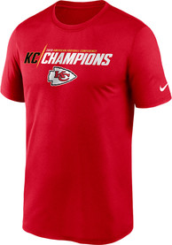 Kansas City Chiefs Nike 2020 Conference Champions Iconic T Shirt - Red